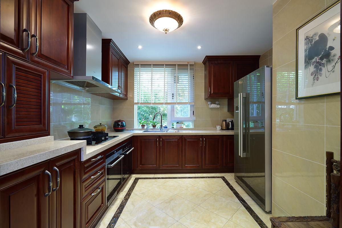 金地未未来 中式装修厨房效果图