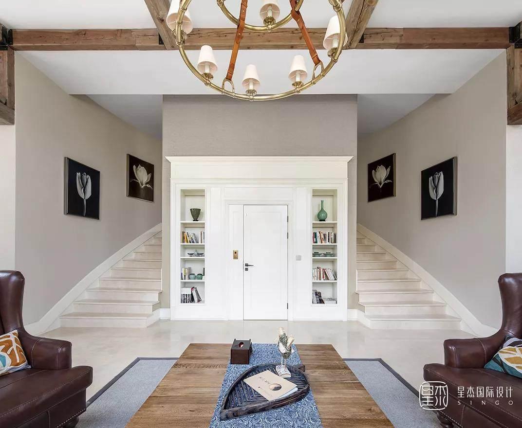 双跑楼梯设计