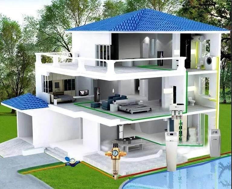 别墅中央水处理系统