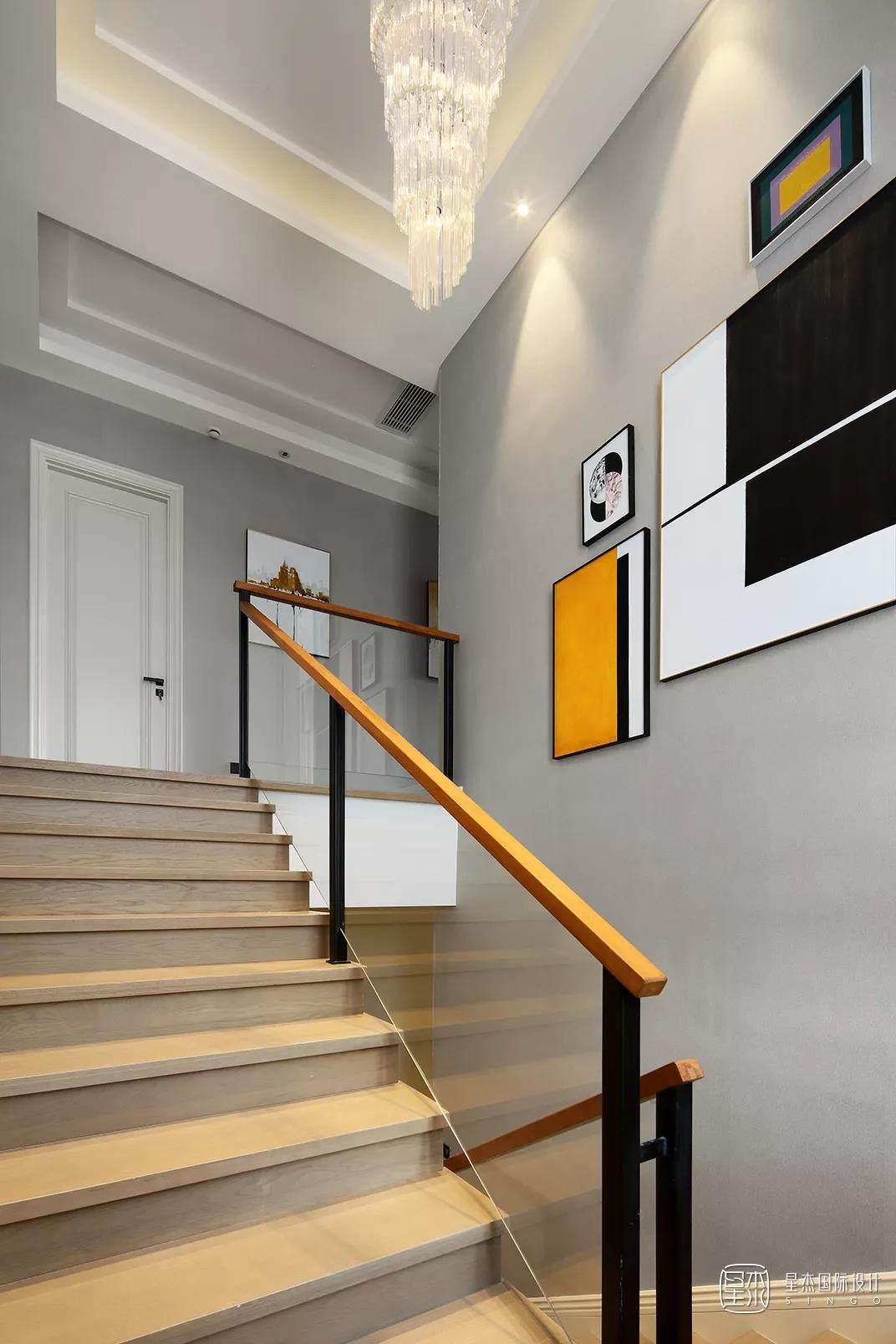 现代楼梯实景