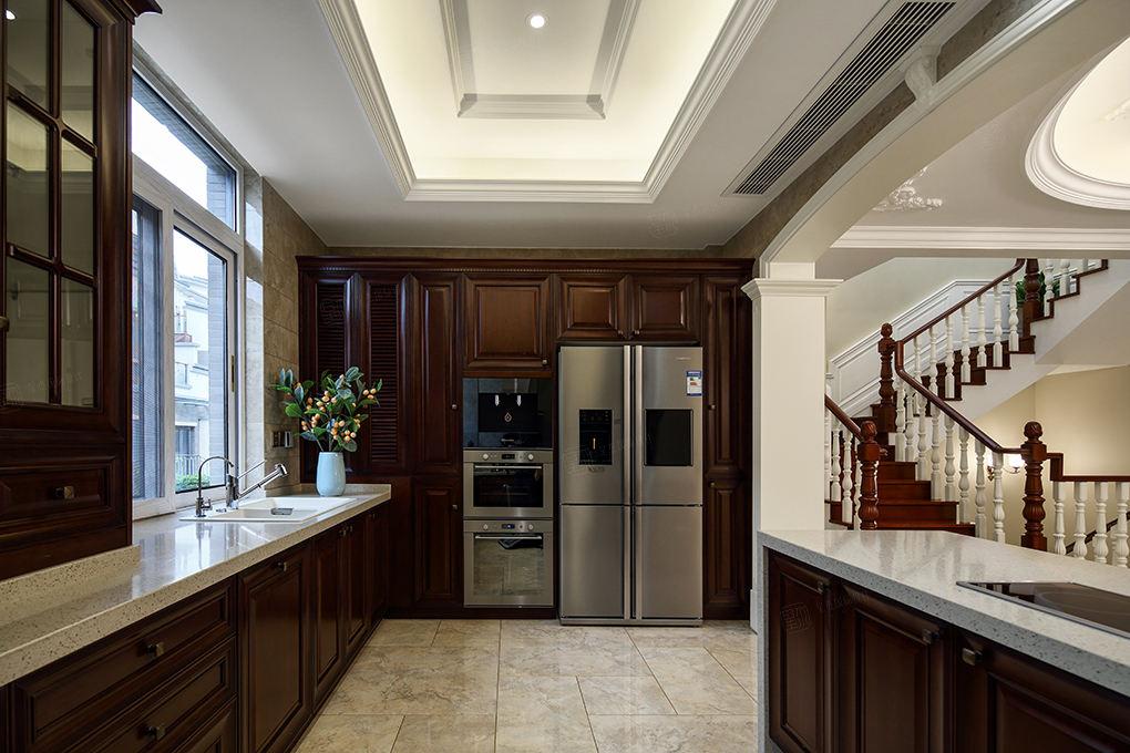 简美装修厨房效果图