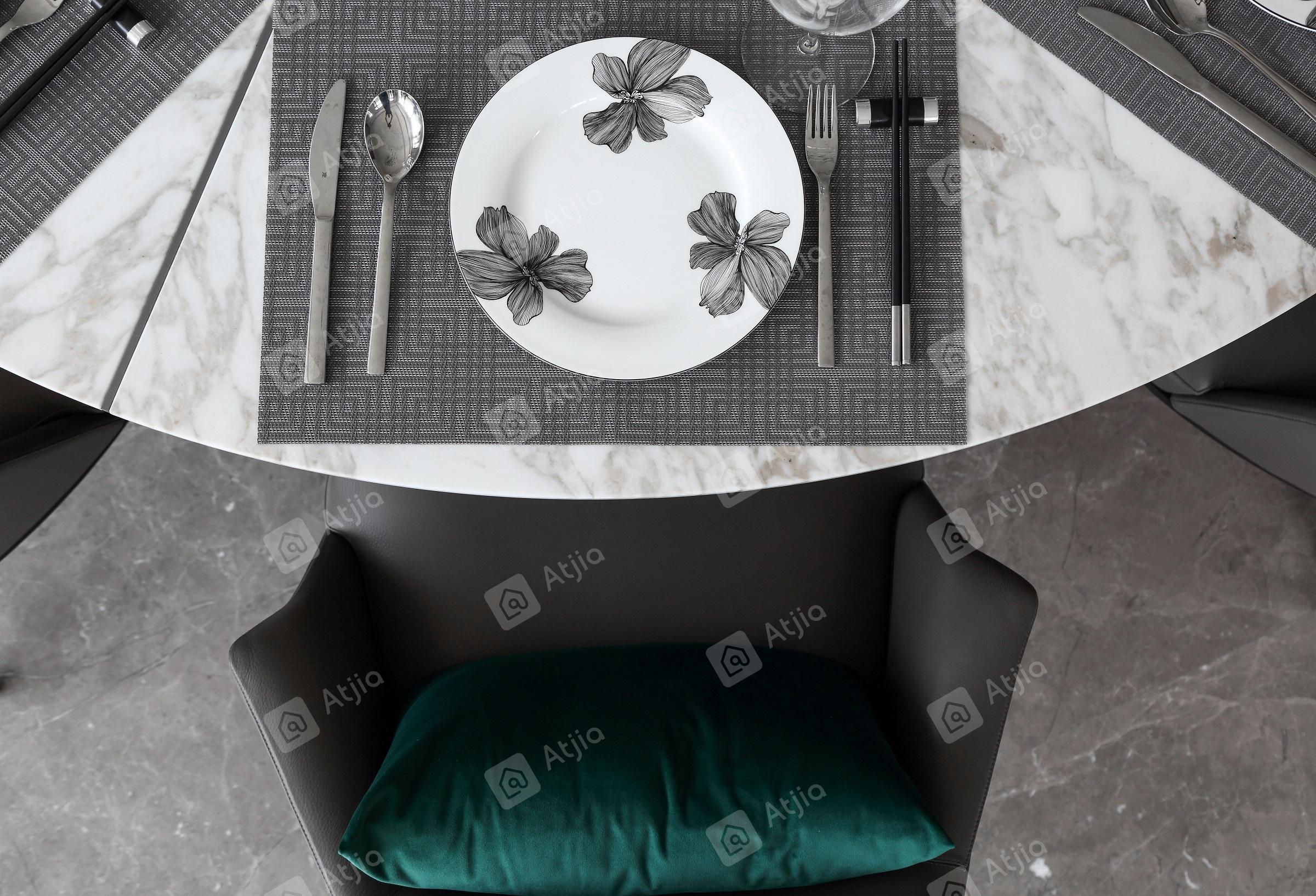 国宾一号——现代极简装修餐桌效果图
