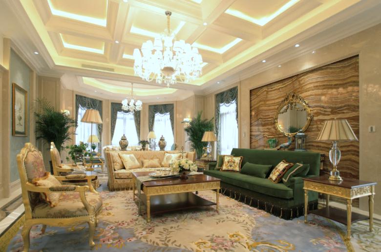 法式装修客厅效果图
