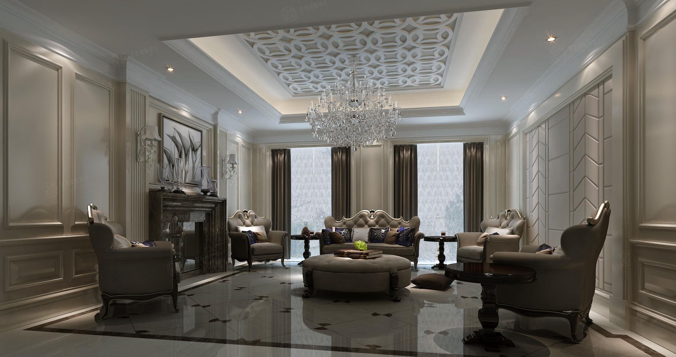 兰馨公寓 新装饰主义装修客厅效果图
