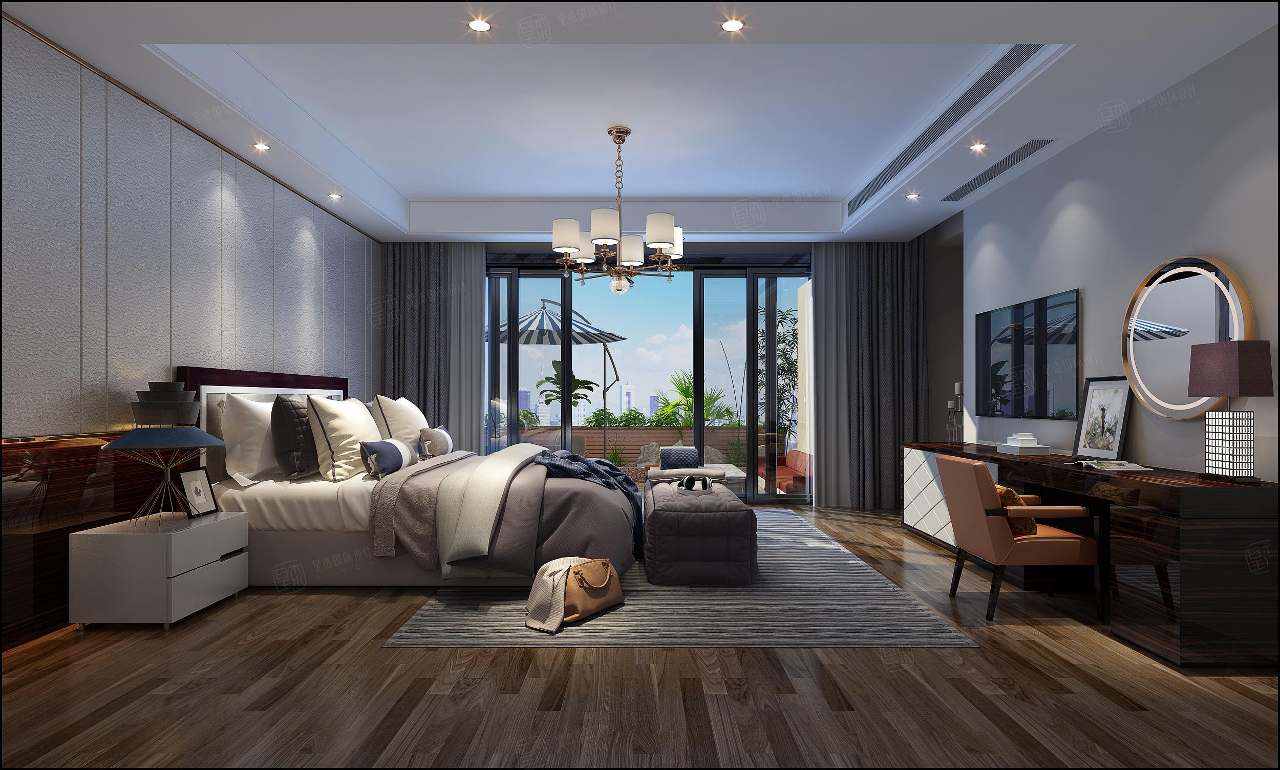 复地北桥城 奢华装修起居室效果图