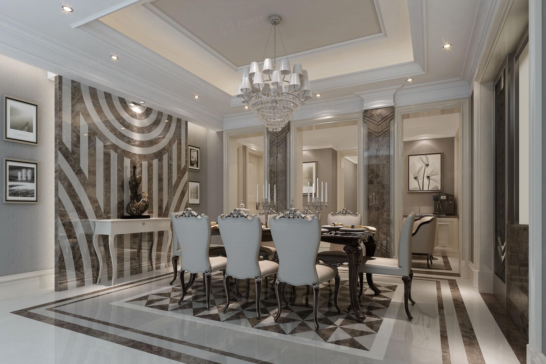 兰馨公寓 新装饰主义装修餐厅效果图