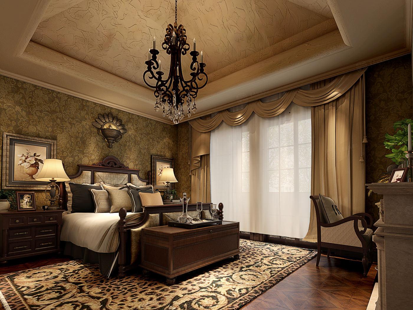 同润圣塔路斯 异域风情装修卧室效果图