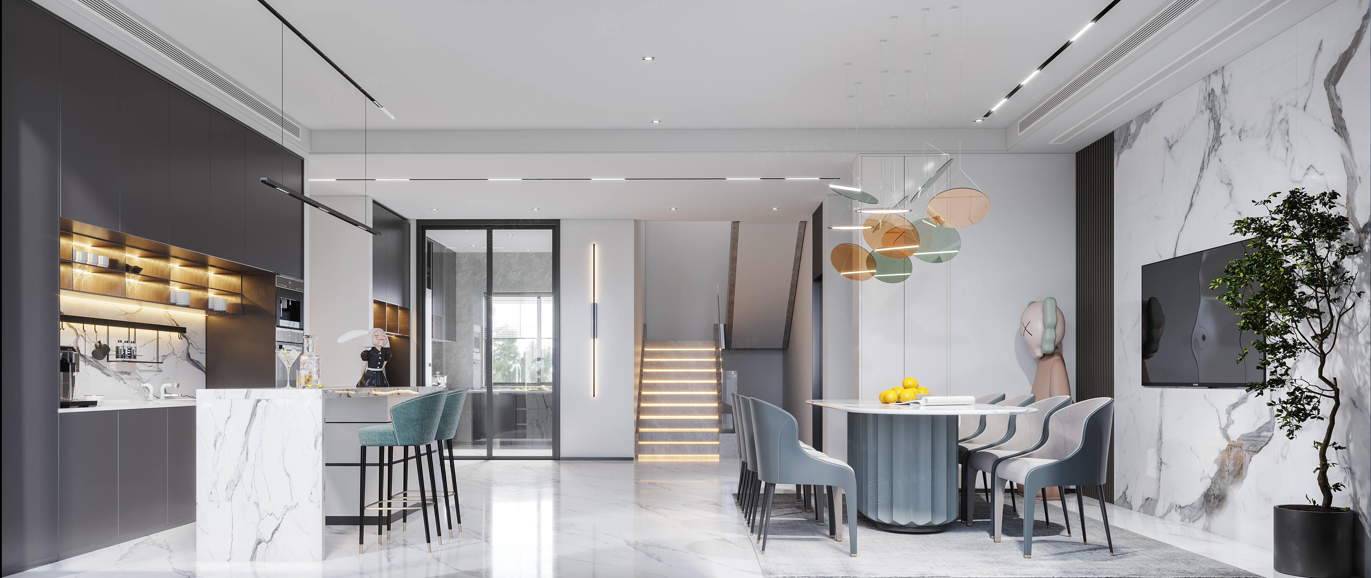 一品漫城  现代风格装修客厅效果图