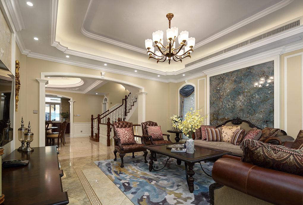 简美装修客厅效果图