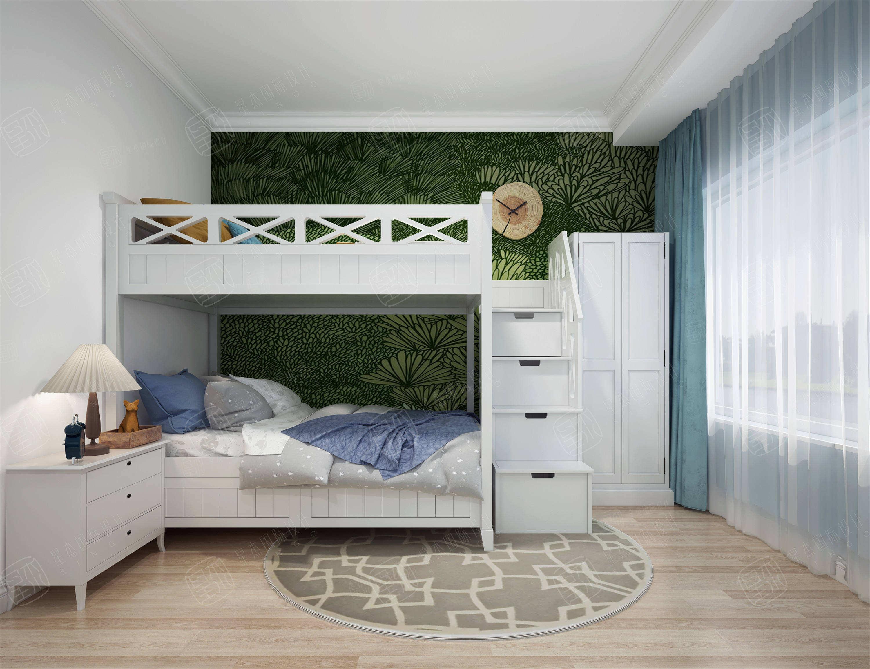 臻水岸   现代混搭轻奢装修卧室效果图