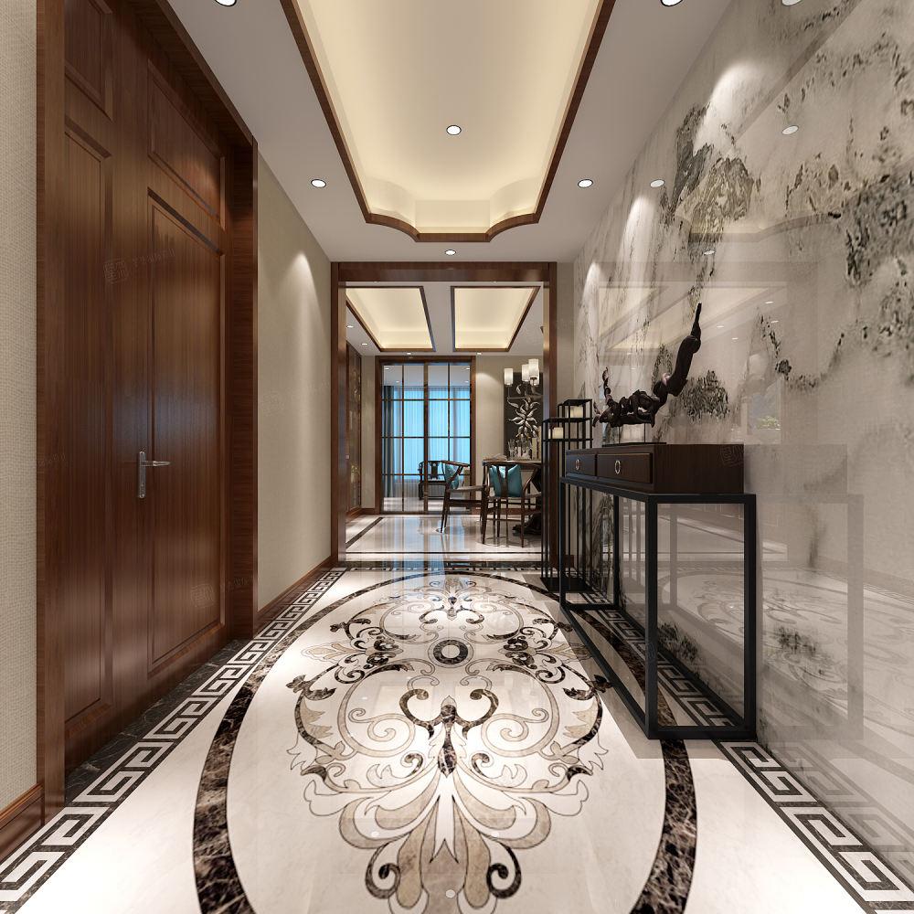 奥林清华_温馨与舒适装修一楼效果图