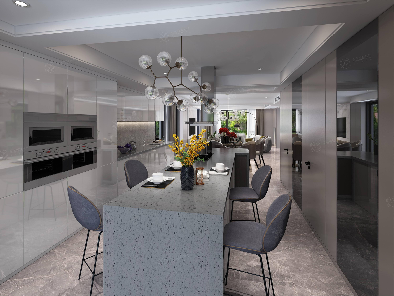 嘉年别墅  现代装修厨房效果图