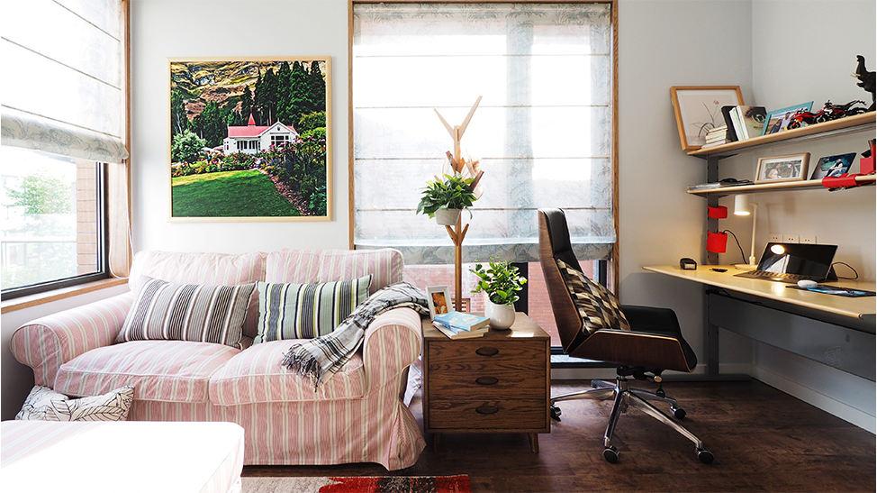 复地北桥城 现代简约装修卧室效果图