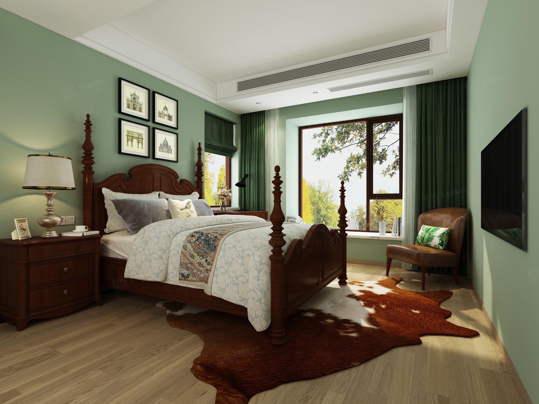 天籁园   北欧现代装修卧室效果图