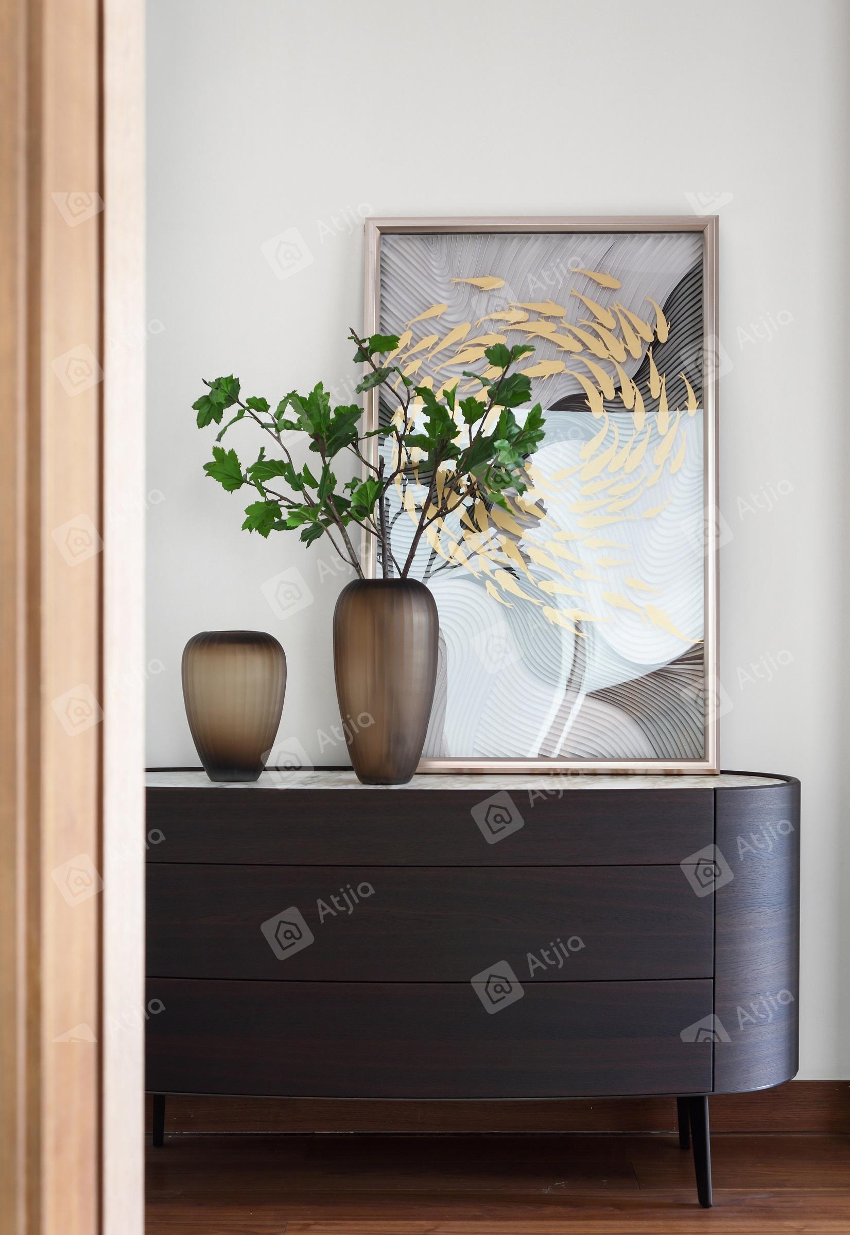 国宾一号——现代极简装修壁画效果图