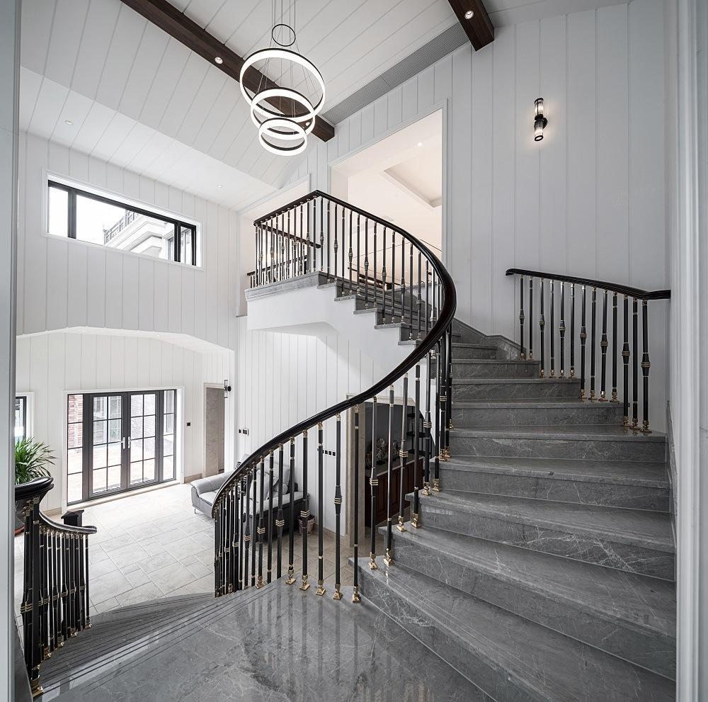 华伟_檀溪湾-现代简约装修楼梯效果图