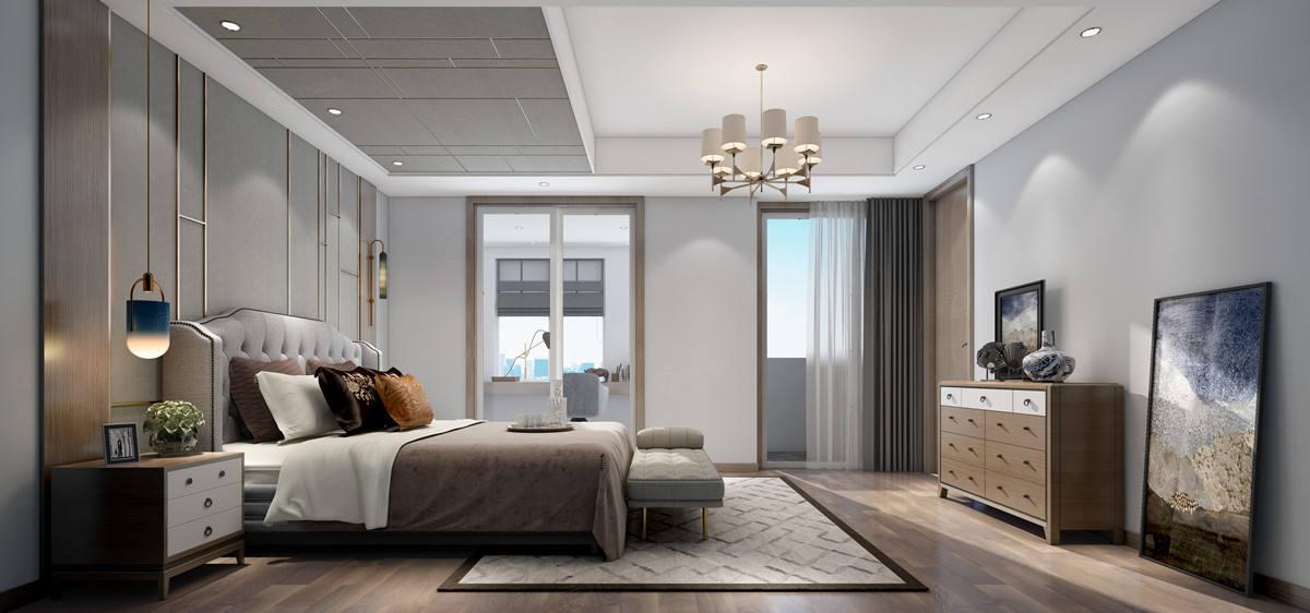 与自然的私语—和沁园装修卧室效果图
