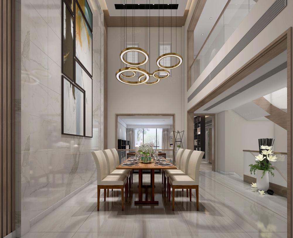 雅戈尔璞缇墅_以人为本的设计装修餐厅效果图