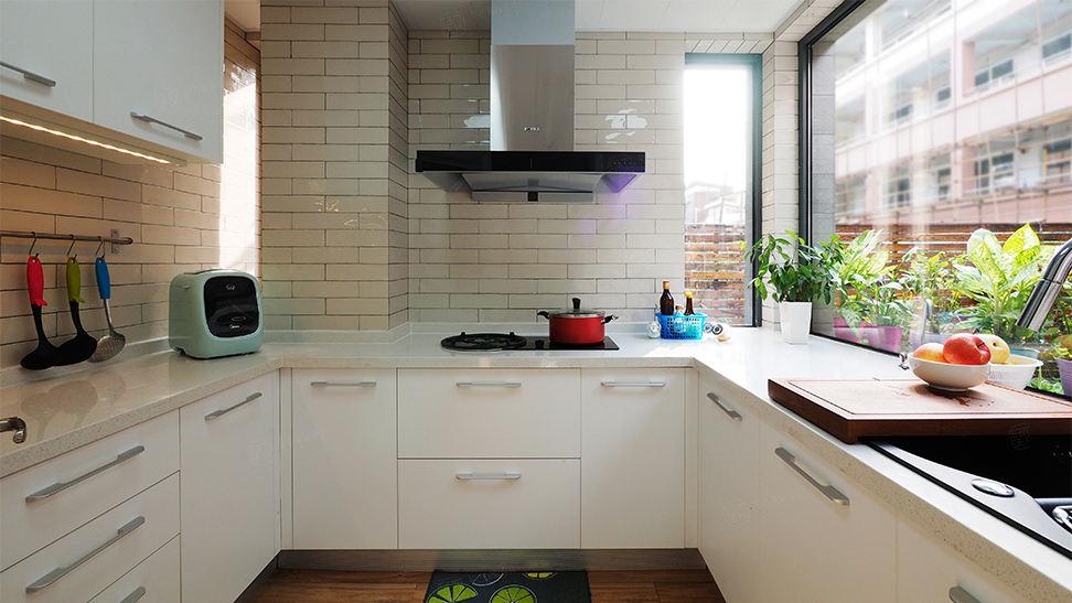 复地北桥城 现代简约装修厨房效果图