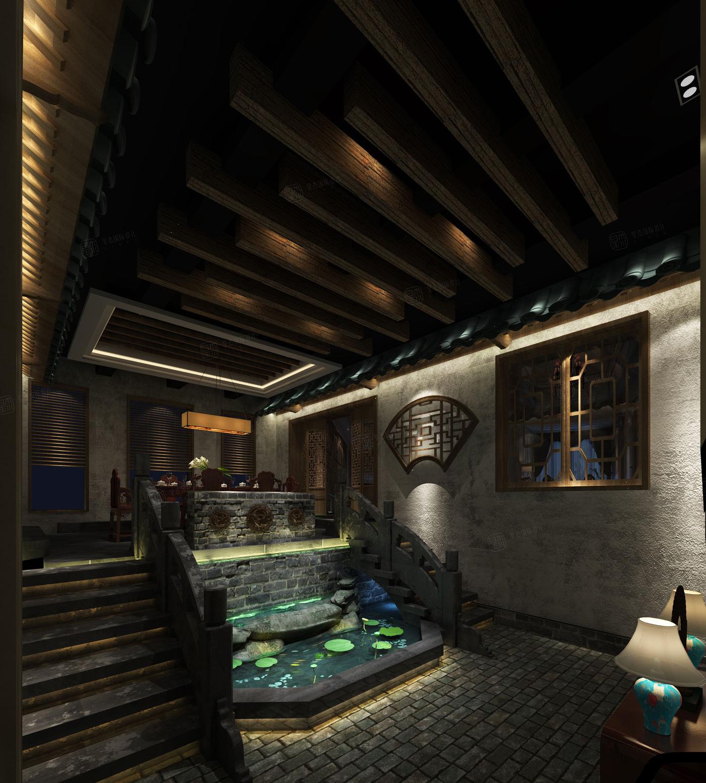 龙湖好望山  法式奢华风装修楼梯效果图