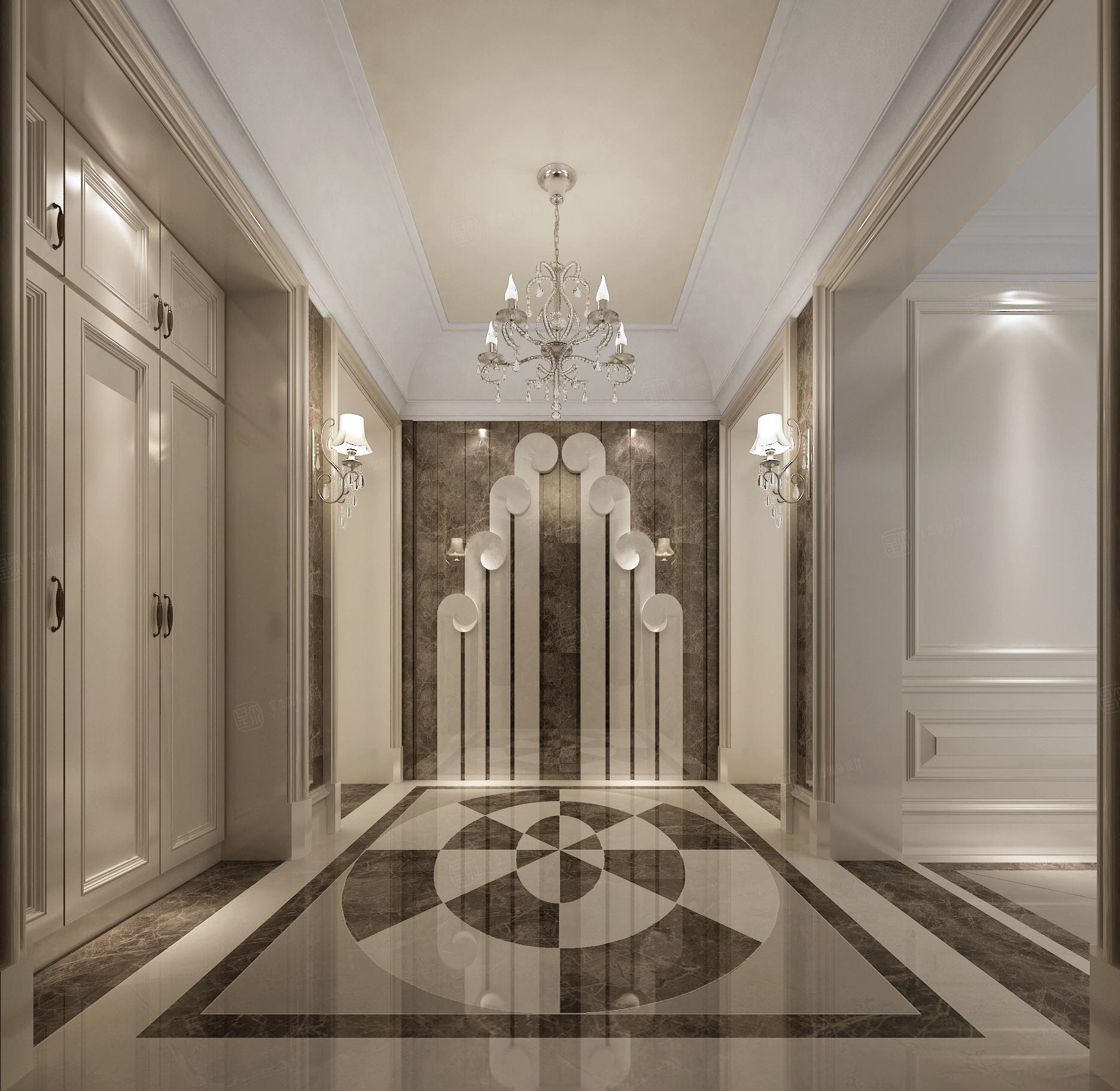 兰馨公寓 新装饰主义装修门厅效果图