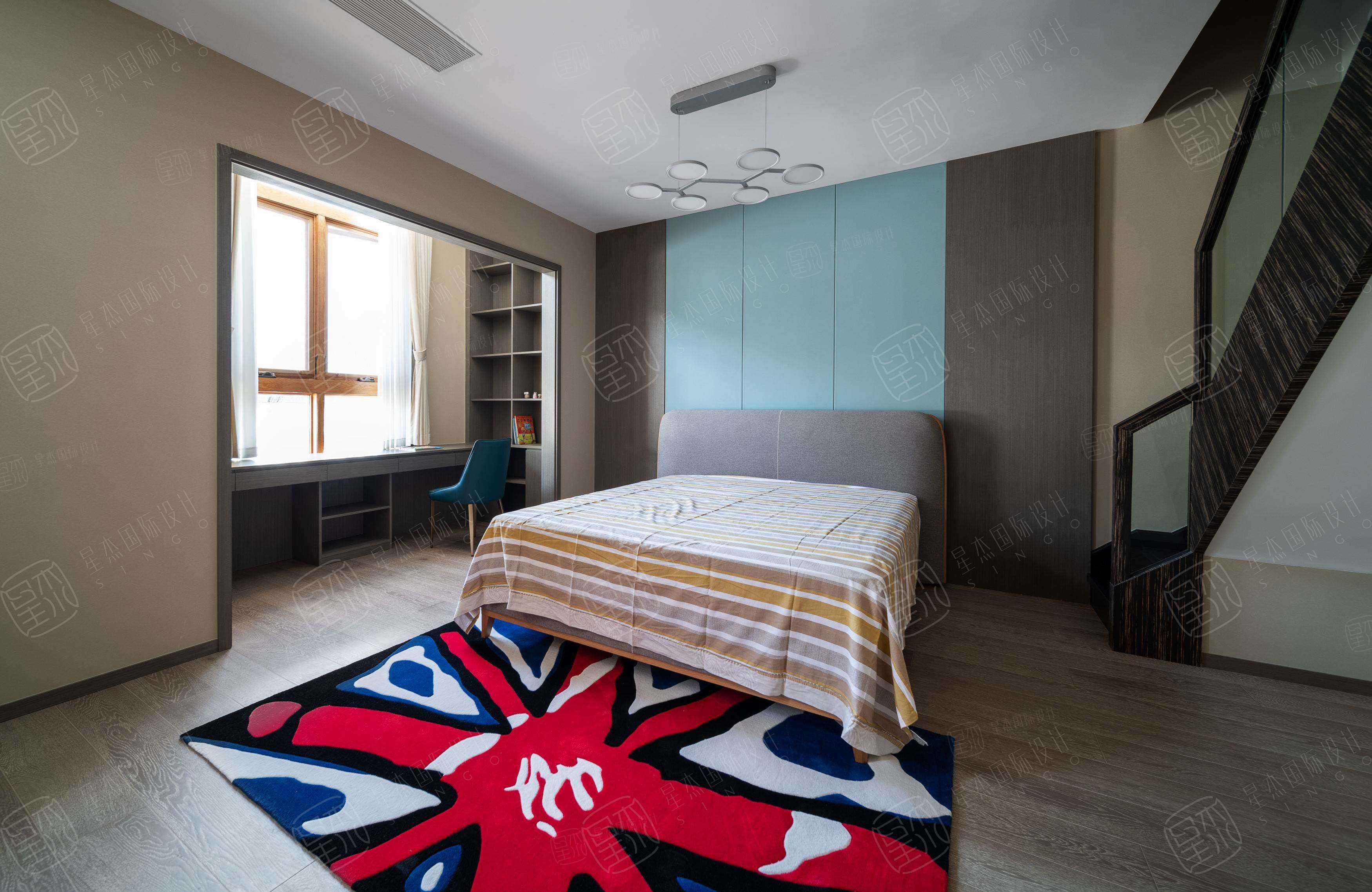 实景 绿城•玫瑰园   轻奢风装修卧室效果图