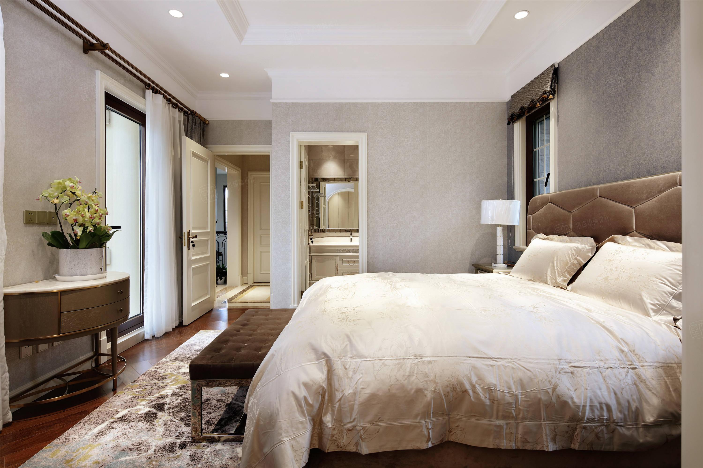 上实和墅   美式装修卧室效果图