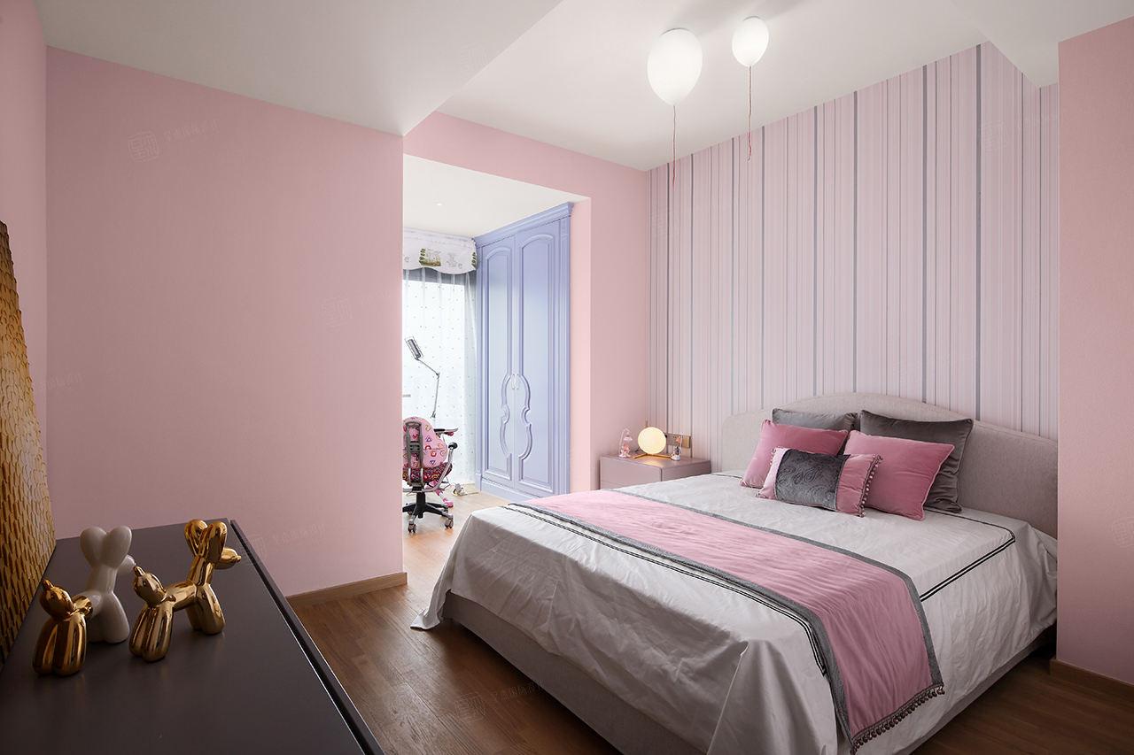 現代簡約裝修臥室效果圖