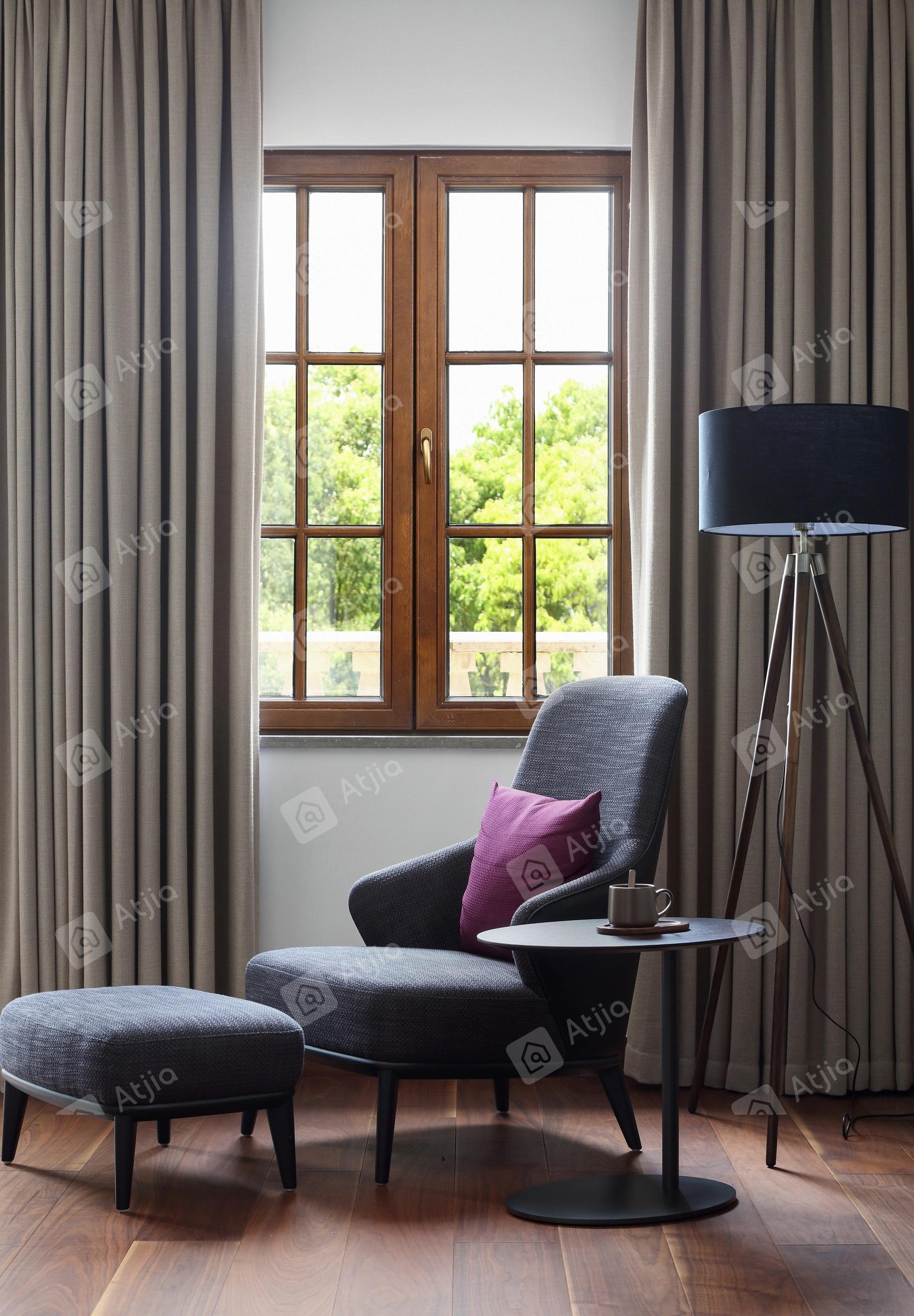 国宾一号——现代极简装修沙发效果图