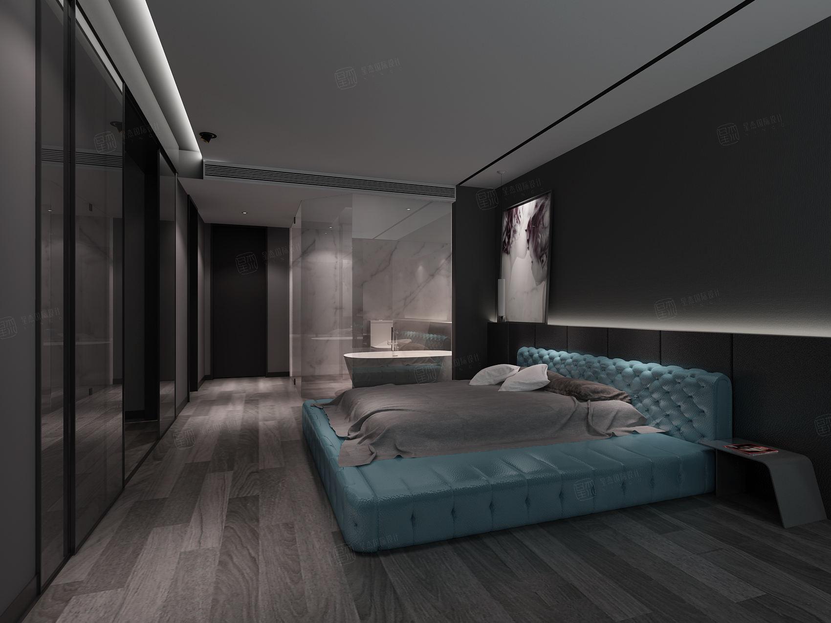 金色维也纳 现代简约装修卧室效果图