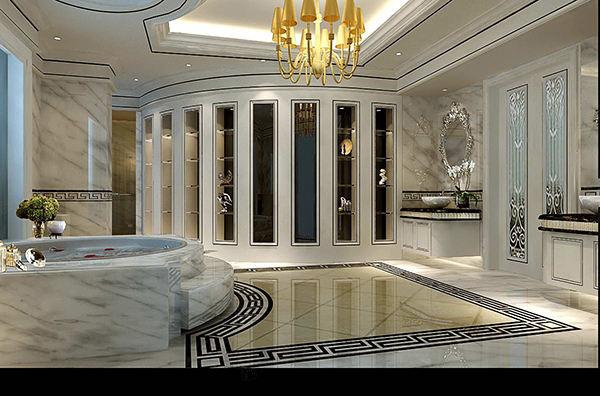 皇朝别墅 新古典装修卫生间效果图