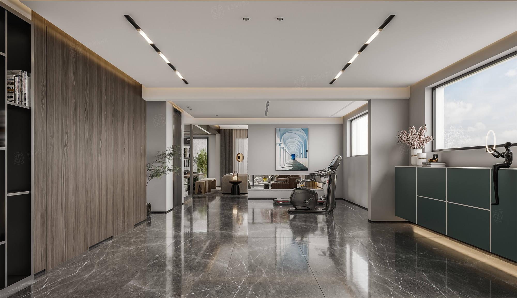 合生广富汇  现代装修客厅效果图